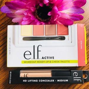 E.L.F Bundle Cheek palette & Lifting Concealer